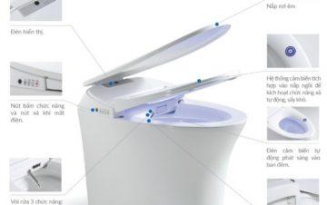 """Thiết bị vệ sinh thông minh - Xu hướng """"công nghệ hóa"""" trong không gian nội thất phòng tắm"""