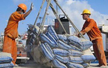 Xuất khẩu xi măng tiếp tục tăng mạnh